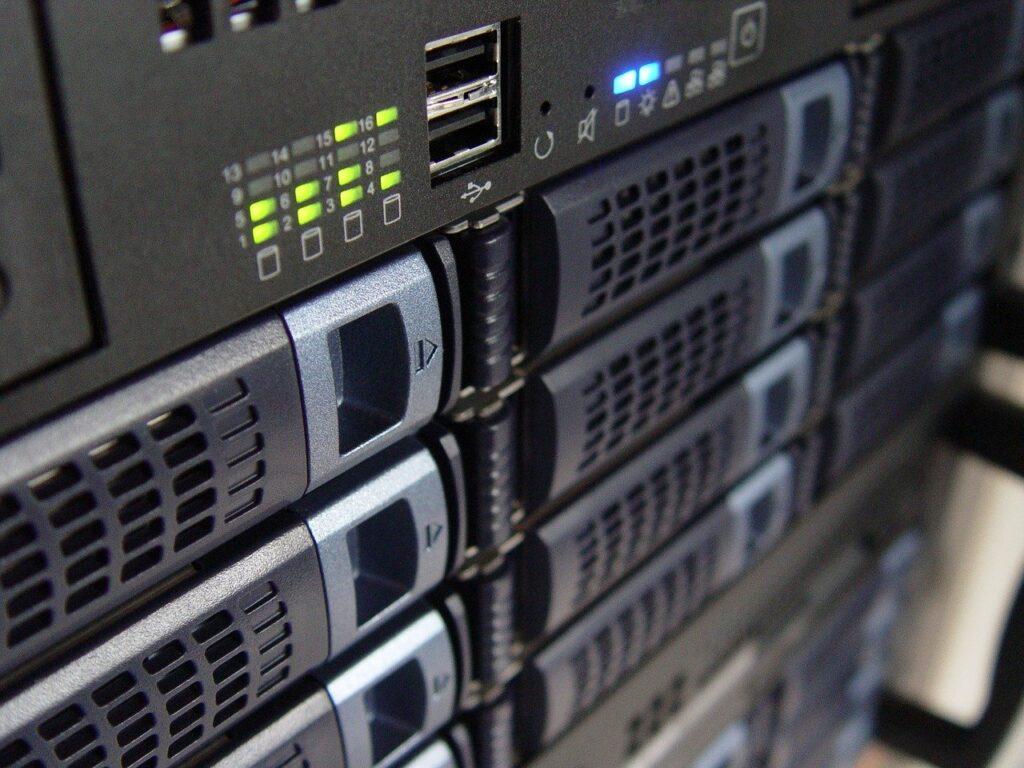 hosting server-rack